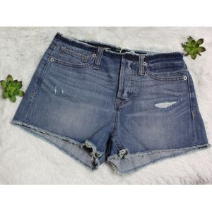 EXPRESS JEANS ~Ripped jeans shorts (0)